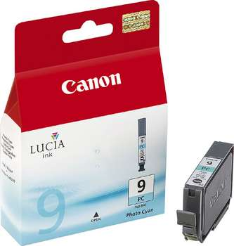 GENUINE CANON PGI-9PC PHOTO CYAN INK CARTRIDGE **NEW**SEALED BOX