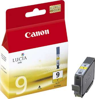 GENUINE CANON PGI-9Y YELLOW INK CARTRIDGE **NEW**SEALED BOX
