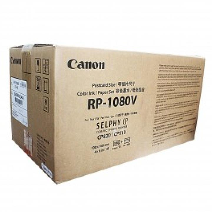 GENUINE CANON RP-1080V SELPHY CP INK & PAPER (1080 SHEETS)(RP-108 x10)