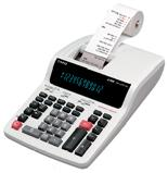 Genuine Casio DR-210TM Heavy Duty 2 Color Printing Calculator 12digits