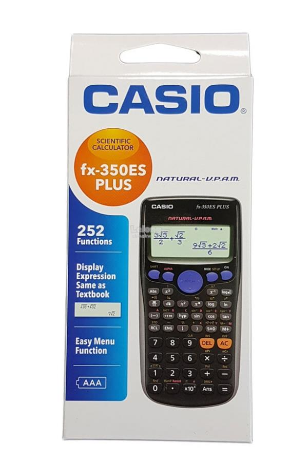 Genuine Casio FX-350ES PLUS Scientific School Calculator