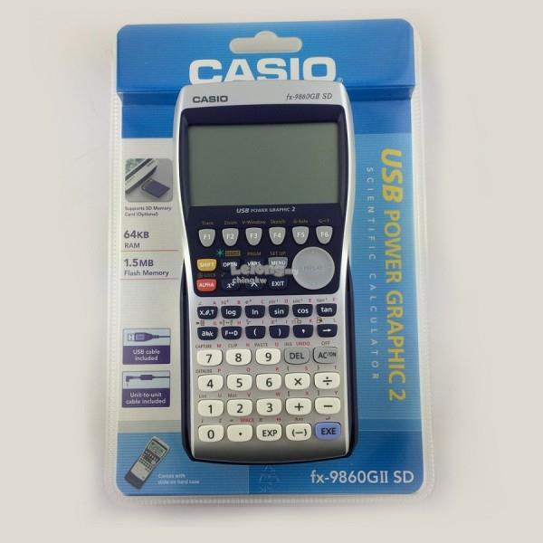 Genuine Casio FX 9860GII SD Scientific Graphing Calculator