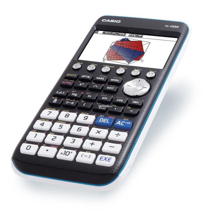 Genuine Casio fx-CG50 PRIZM 3D Color Graphing Calculator