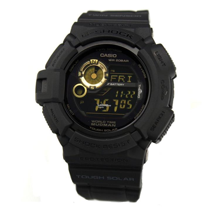 Genuine Casio G-Shock G-9300GB-1DR Digital Sports Watch Matte Black
