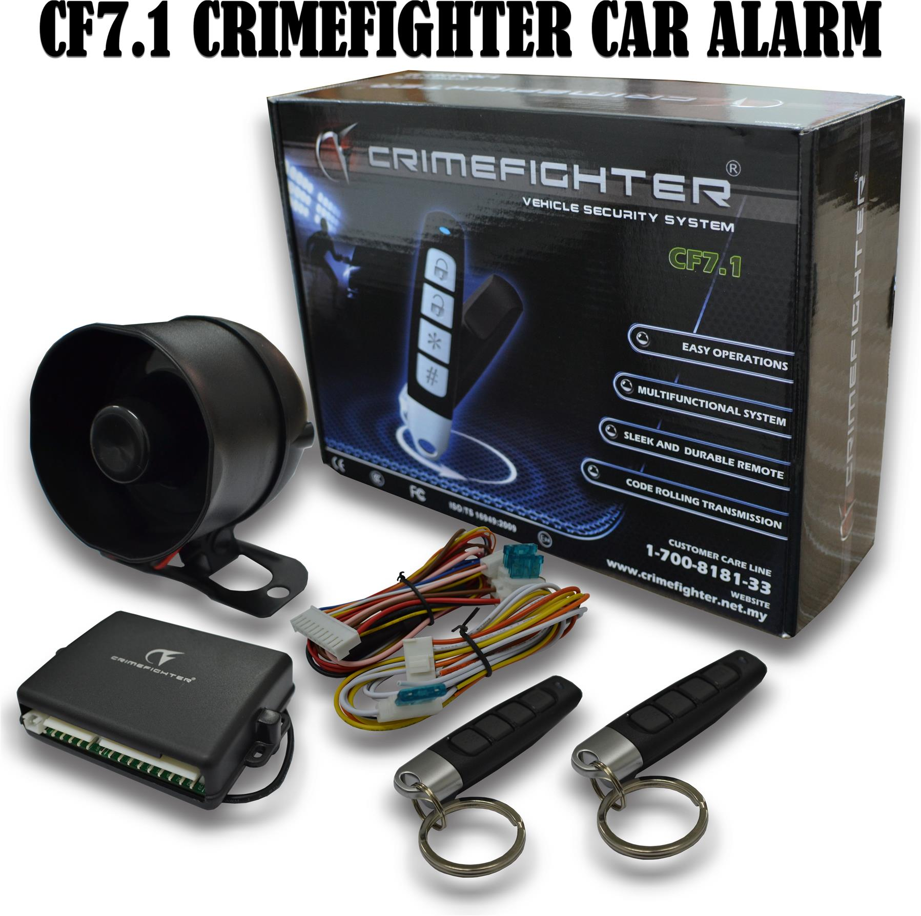 Genuine CrimeFighter CF-7.1 one way (end 10/29/2018 2:15 PM)