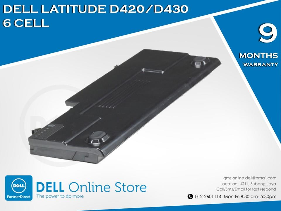 Genuine Dell Latitude D420/D430 6 Cell Battery