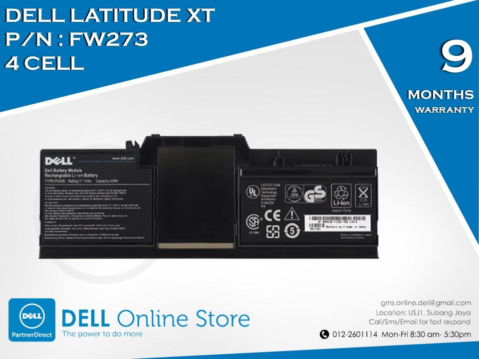 Genuine Dell Latitude XT 4 Cell Battery