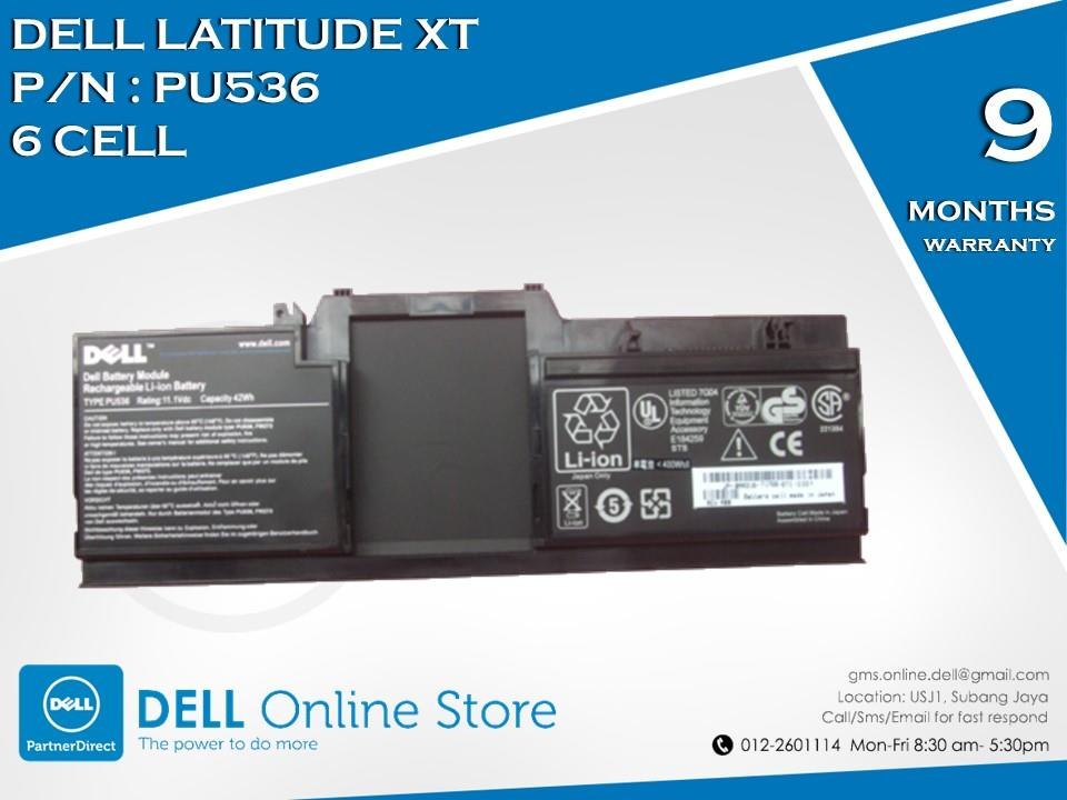 Genuine Dell Latitude XT 6 Cell Battery