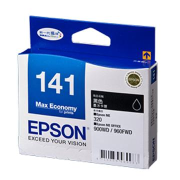 GENUINE EPSON 141 BLACK INK CARTRIDGE **NEW**SEALED BOX