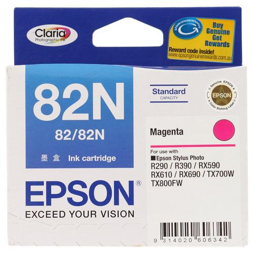 GENUINE EPSON 82N MAGENTA INK CARTRIDGE **NEW**SEALED BOX