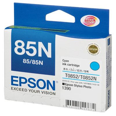 GENUINE EPSON 85N CYAN INK CARTRIDGE **NEW**SEALED BOX