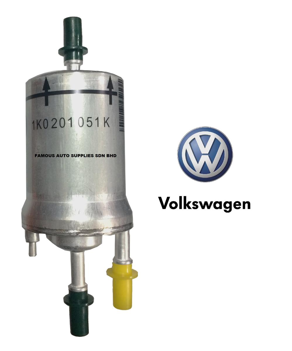 Genuine Fuel Filter 1K0 201 051 K VW Jetta Golf MK6 Passat Audi A3 TT. ‹ ›