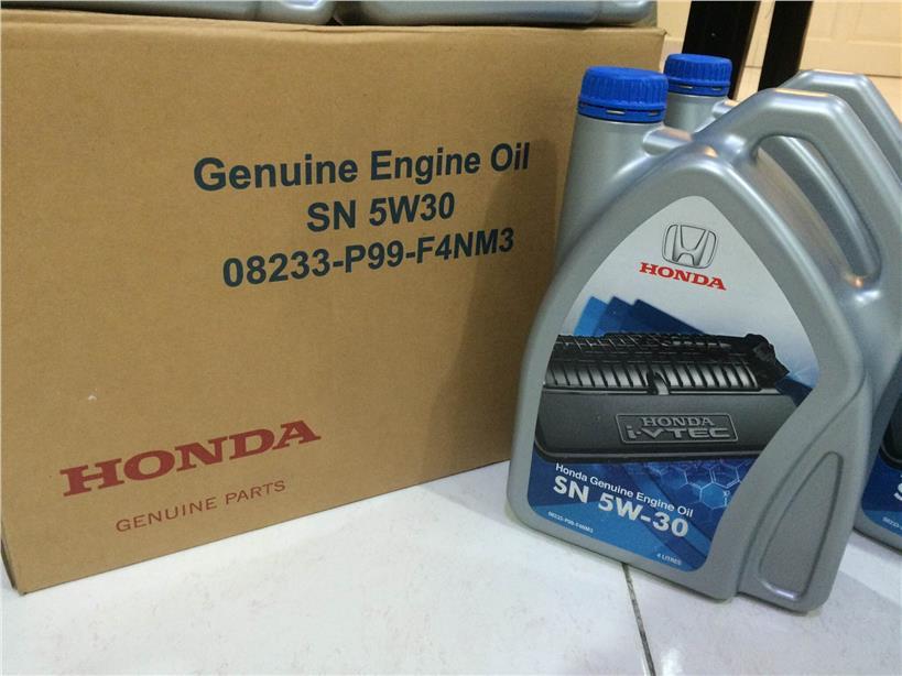 genuine honda engine oil   semi    pm