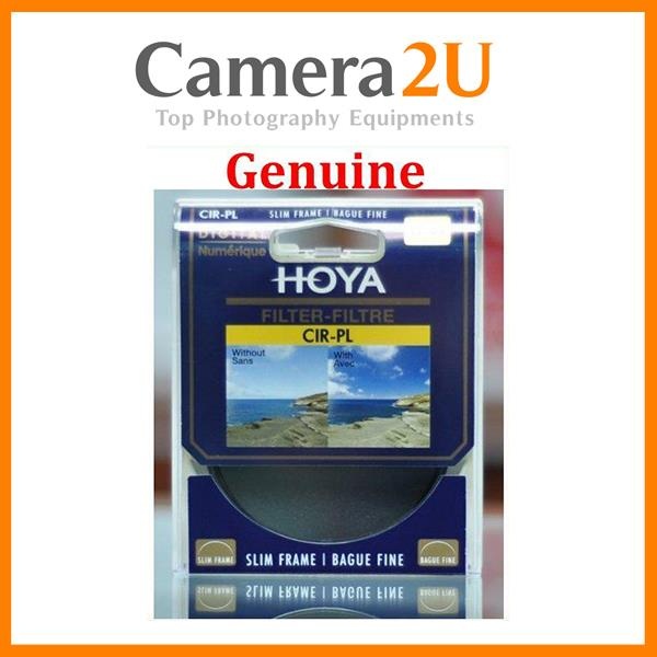 Genuine Hoya 55mm Digital Circular Polarizer Slim CPL Lens Filter