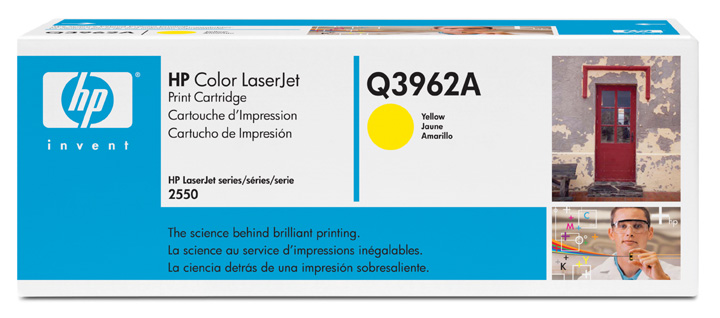 GENUINE HP 122A YELLOW INK TONER (Q3962A) **NEW**SEALED BOX