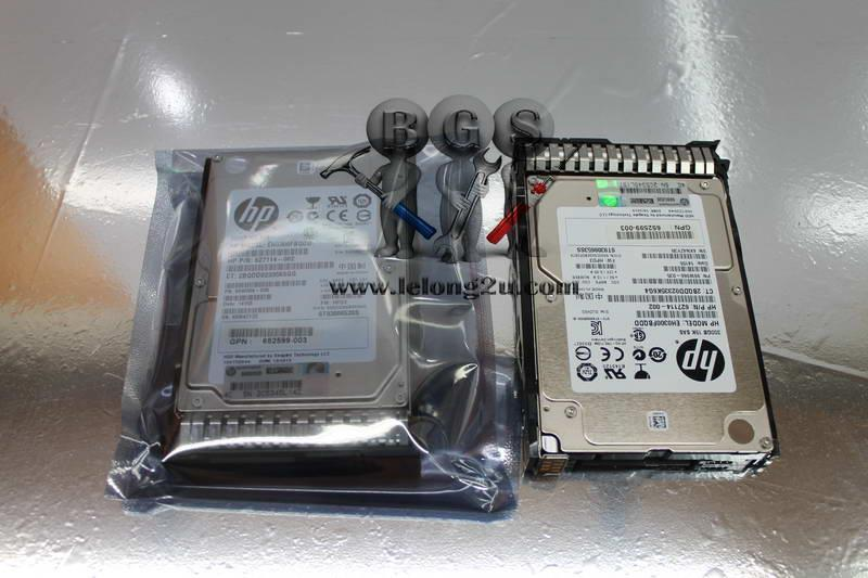 Genuine HP 300-GB 6G 15K 2.5 DP SAS Harddisk with caddy 627114-002