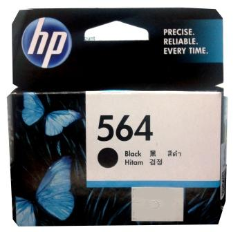 GENUINE HP 564 BLACK INK CARTRIDGE - CB316WA
