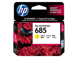 GENUINE HP 685 YELLOW INK CARTRIDGE (CZ124AA) **NEW**SEALED BOX