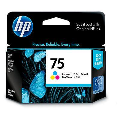 GENUINE HP 75 COLOR INK CARTRIDGE (CB337WA) **NEW**SEALED BOX