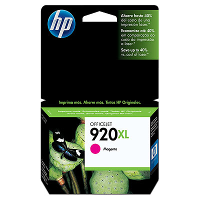 GENUINE HP 920XL MAGENTA INK CARTRIDGE (CD973AA) **NEW**SEALED BOX