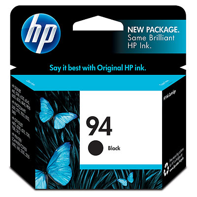 GENUINE HP 94 BLACK INK CARTRIDGE (C8765WA) **NEW**SEALED BOX