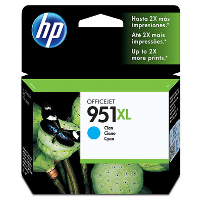 GENUINE HP 951XL CYAN INK CARTRIDGE (CN046AA) **NEW**SEALED BOX