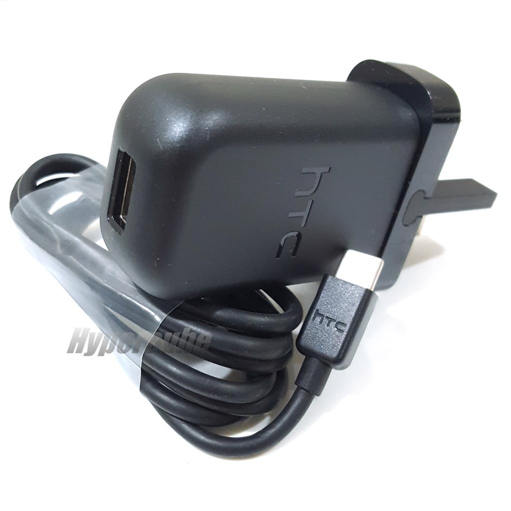 Genuine HTC QC3.0 Travel Charger TC P5000-UK + Type-C Cable