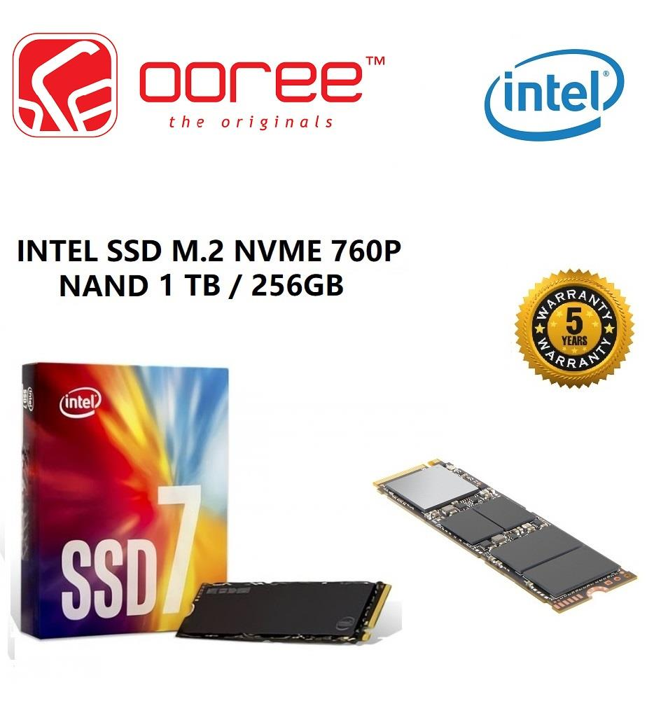 GENUINE INTEL SSD M2 NVME 760P 3D End 7 13 2019 1115 AM