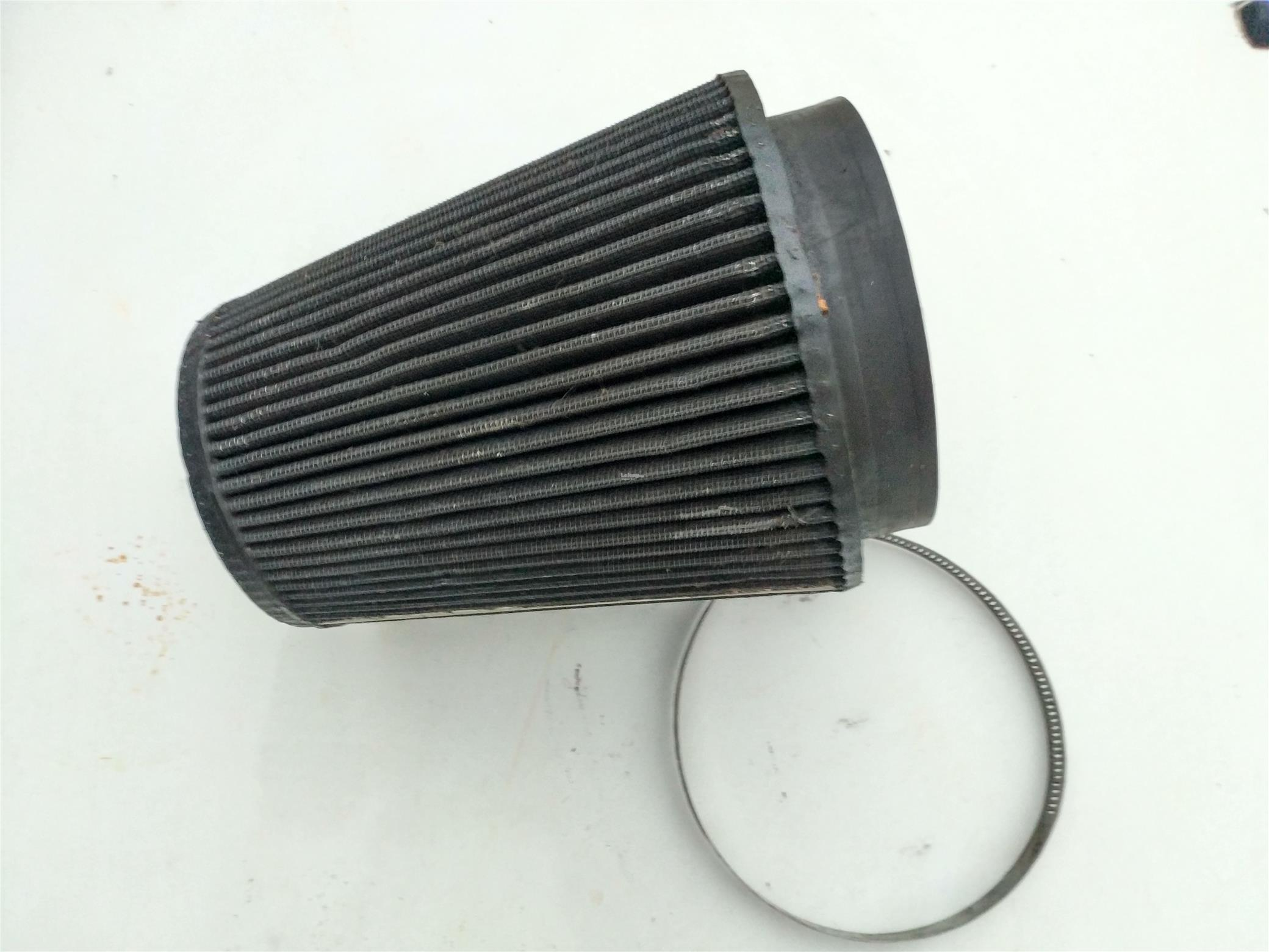 Genuine K & N Air filter -5 inches opening.