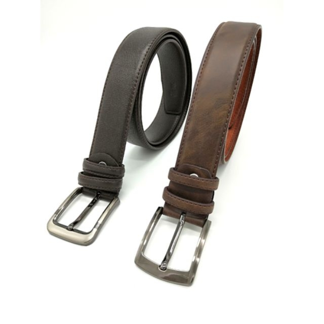 Genuine Leather Belt Men's High Quality Cow Leather Formal Smart Man