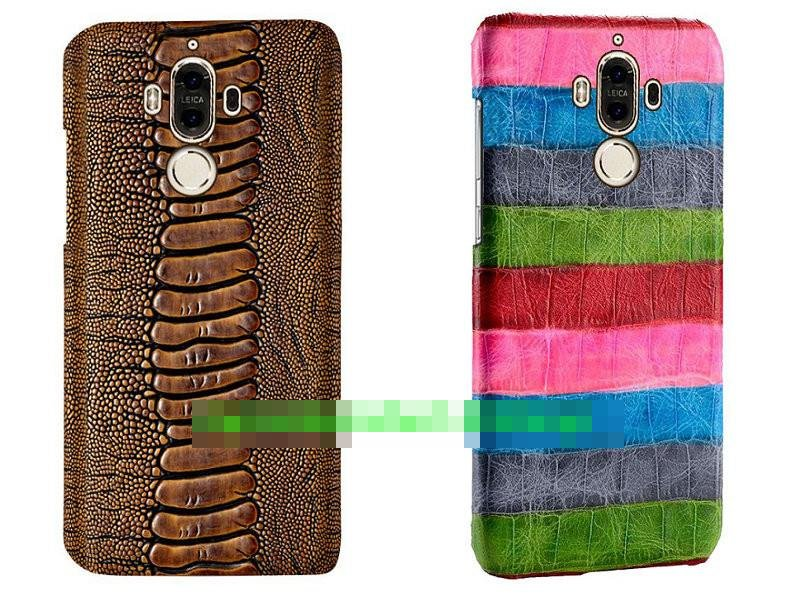 Genuine Leather Huawei Mate 9 Back Armor Case Cover Casing + Gift