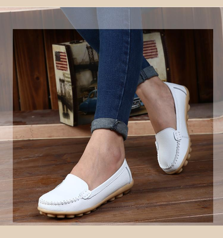 new ! genuine leather shoes women fl (end 3/21/2016 8:55 am)