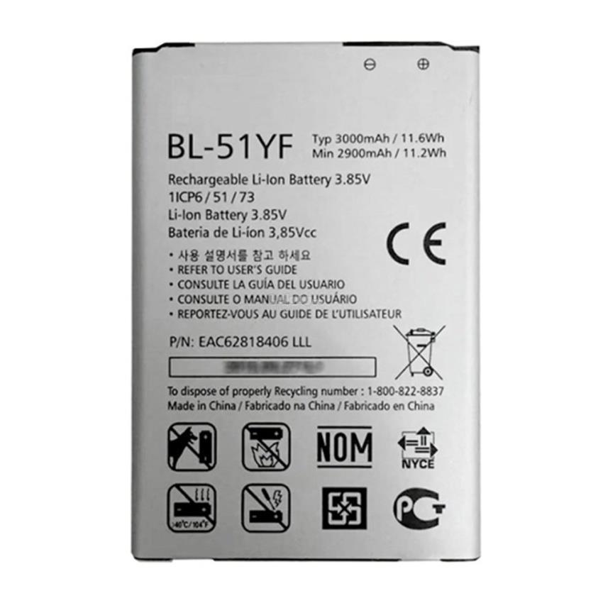 Genuine LG G4 BL-51YF Battery Replacement Sparepart Repair 3000mAh