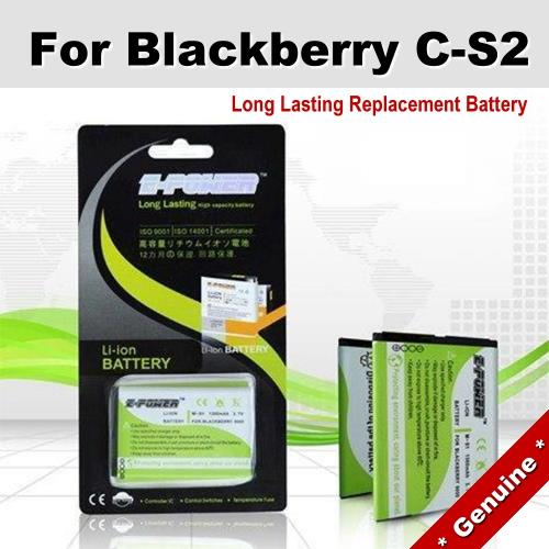 Genuine Long Lasting Battery Blackberry 7100x 7130 8703 C-S2 Battery