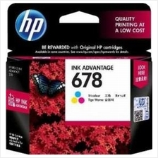Genuine Original CZ108AA HP 678 Tri-Color Ink Cartridge 2545 3545 4645