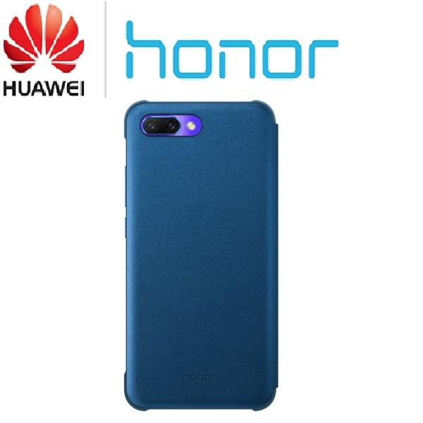 buy online 89f35 7c1e2 Genuine Original Official Huawei Honor 10 Smart View Flip Case Cover