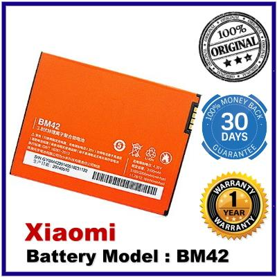 Genuine Original Xiaomi Battery BM42 BM-42 Hongmi Note Redmi Note