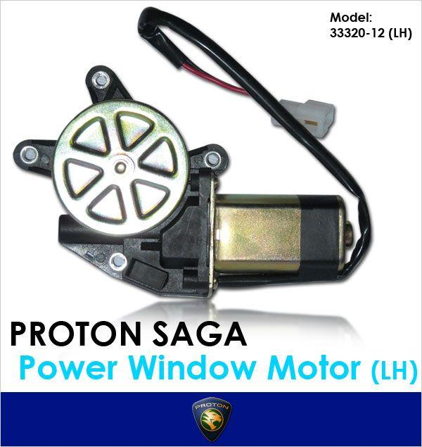 GENUINE PROTON SAGA/ISWARA Left Side Power Window Motor [33320-12LH]