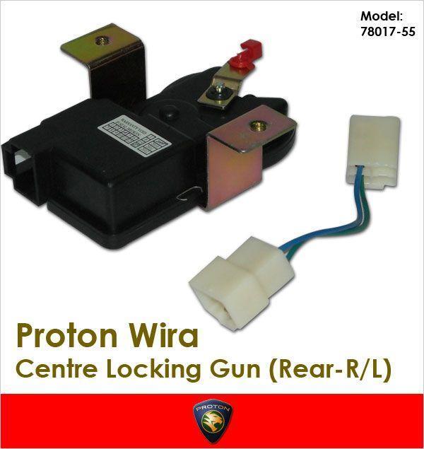 Proton Wira Makeup: GENUINE PROTON WIRA Rear Left Centre (end 5/1/2019 12:00 AM
