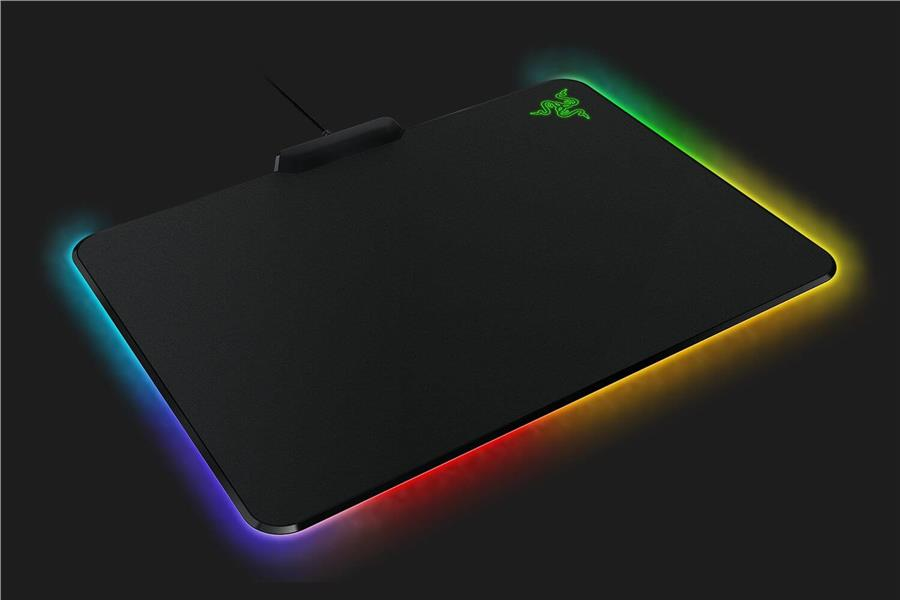 razer firefly chroma custom lighting hard gaming mouse pad