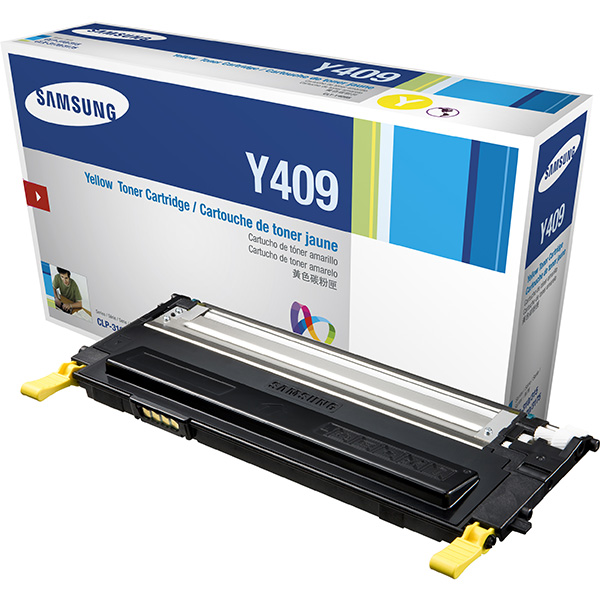 GENUINE SAMSUNG CLT-Y409S YELLOW INK TONER **NEW**SEALED BOX