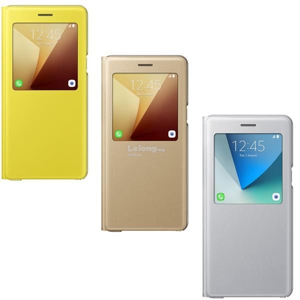 timeless design 50990 6be95 Genuine Samsung Galaxy Note 7 S View Flip Cover Case Original Casing