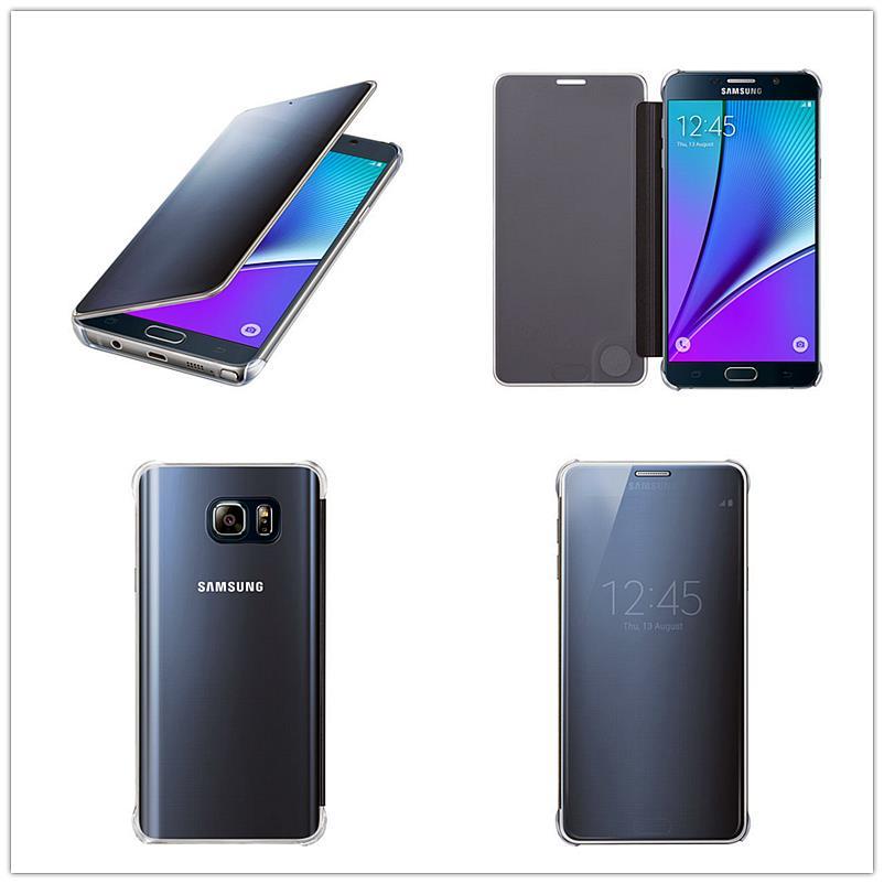 sale retailer 8b943 9ced4 Genuine Samsung Galaxy NOTE5 Clear View Flip Cover Case Ori NOTE 5