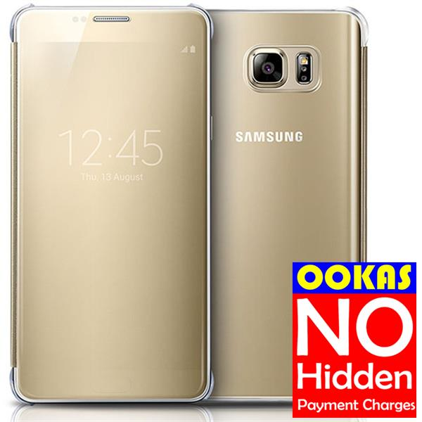 sale retailer 392ed ce2a5 Genuine Samsung Galaxy NOTE5 Clear View Flip Cover Case Ori NOTE 5