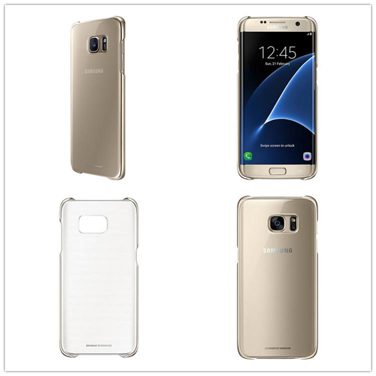 outlet store 8004c d6185 Genuine Samsung Galaxy S7 edge Clear Back Protective Cover Case Ori