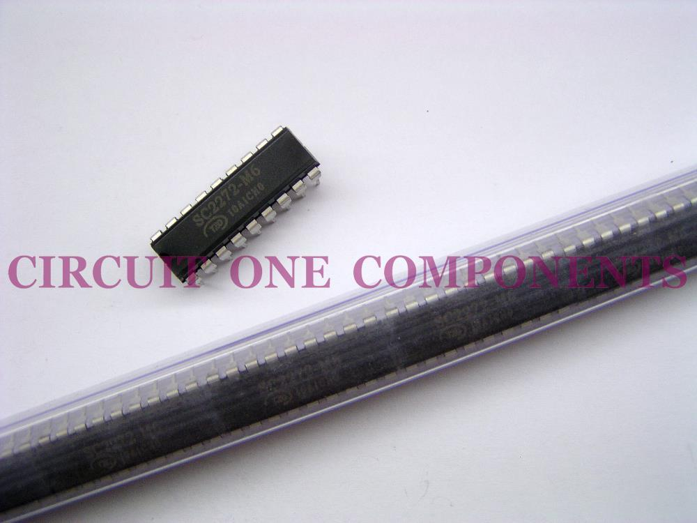 Genuine SC2272-M6 Decoder-IC ( Equivalent PT-2272-M6 )