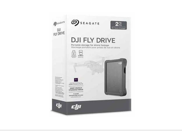 GENUINE SEAGATE DJI FLY DRIVE FOR DRONE FOOTAGE - 2TB (STGH2000400)