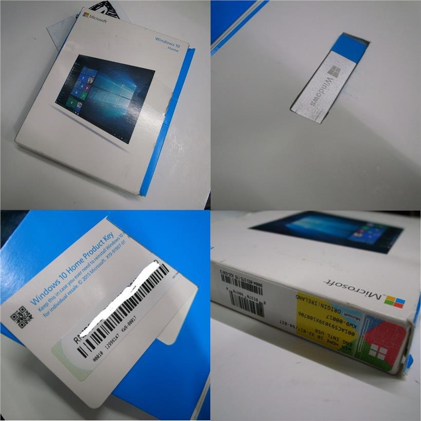 Genuine Windows 10 Home FPP 32/64bit License Product key Rm350