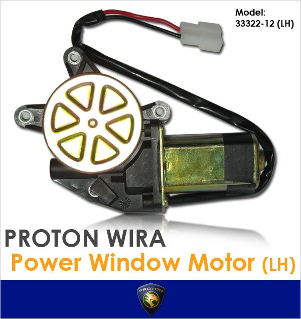 GENUINE WIRA/SATRIA/GTI/PUTRA Left Side Power Window Motor[33322-12LH]
