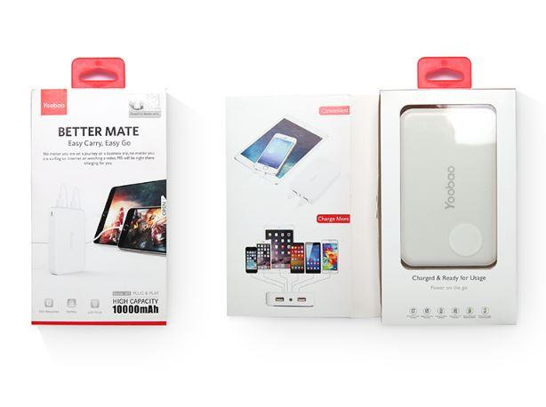 Genuine Yoobao Better Mate M5 10000 mAh Master Power Bank Dual Output